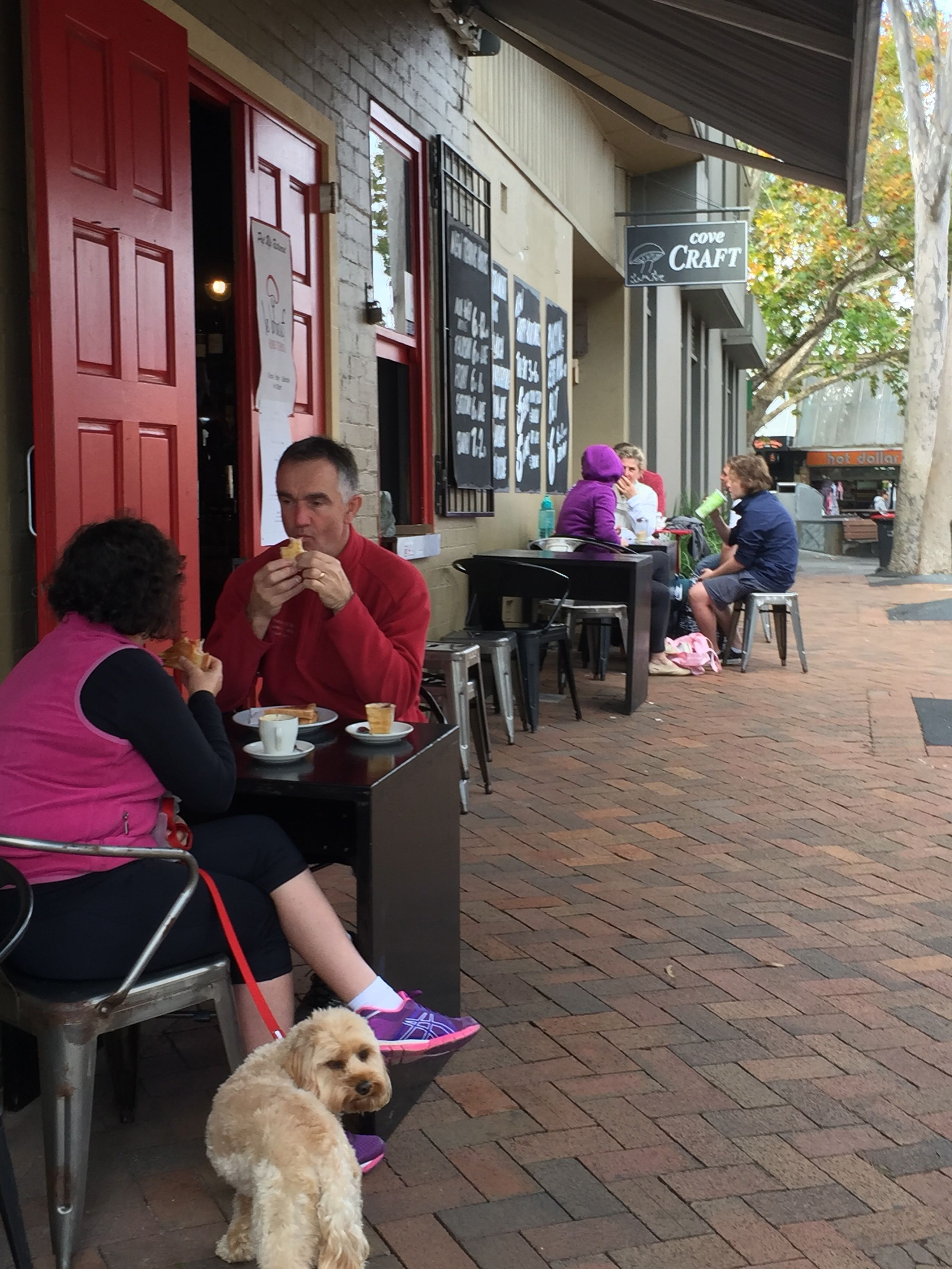 Sunday Coffee Sipping In Lane Cove In The Cove