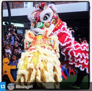 Chinese Lion Dance at Lane Cove