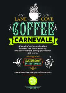 Coffee Carnevale Poster