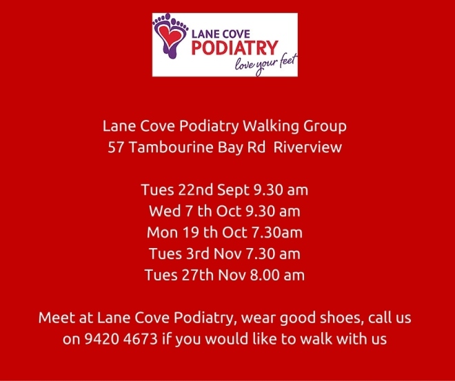 Dates for our walking group.... Walk goes